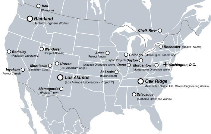 Manhattan_Project_US_Canada_Map
